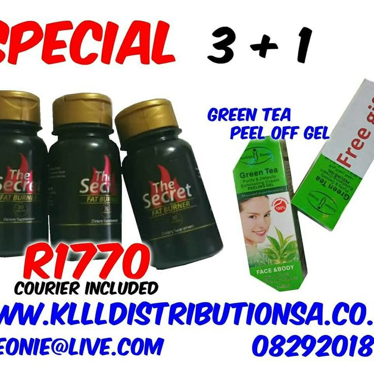 www.kllldistributionsa.co.za LLeonie@Live.com 0829201863 Order your Secret Fat Burner today