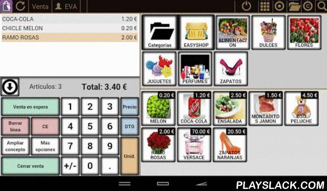 EasyShop POS  Android App - playslack.com , easyShop POS es un TPV local, ligero para medianos y pequeños negocios o cadenas de tiendas y franquicias. Permite trabajar varias tablets convirtiendo una de ellas en el servidor local ( easyServer ). En lugar de comprar un punto tradicional de alto precio puede disponer de muchos mas económicos, que le permitirán mejorar la atención.Especialmente diseñado para cumplir con las obligaciones fiscales Españolas y Europeas.Convierta inmediatamente su…