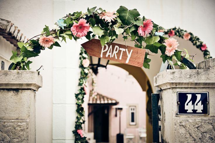 Páteo Alfacinha #Party #wedding #flowers