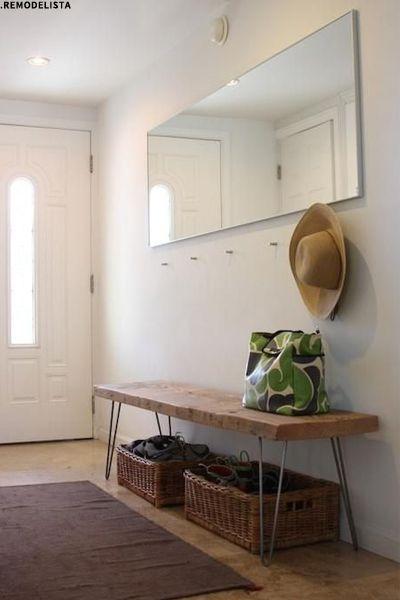 Clever Hallway Storage