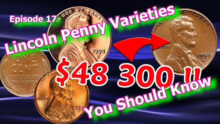 Lincoln Penny Varieties You Should Know Ep. 17 - 1953, 1998, 1959 and Ho...