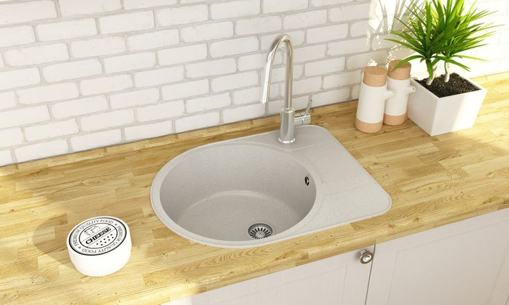 Kitchen sink Pallas design by Mikhail Komarov