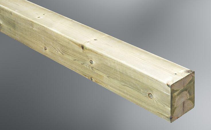 Luna wood post option 140+140 or 115+115