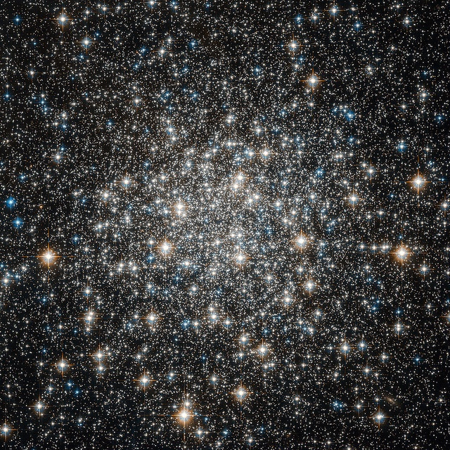 Hubble Views the Globular Cluster M10 by NASA Goddard Photo and Video, via Flickr  -- this is so cool, Emma Smith