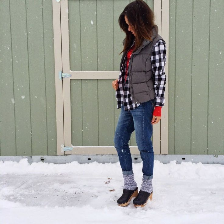 Winter Outfit Snow Outfit Plaid Outfit Casual Aldo Shoes