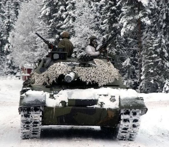 Leopard 1A5 NO - Norwegian Army