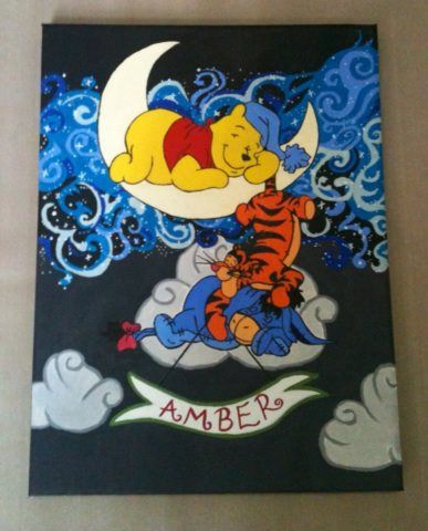 winnie the pooh canvas