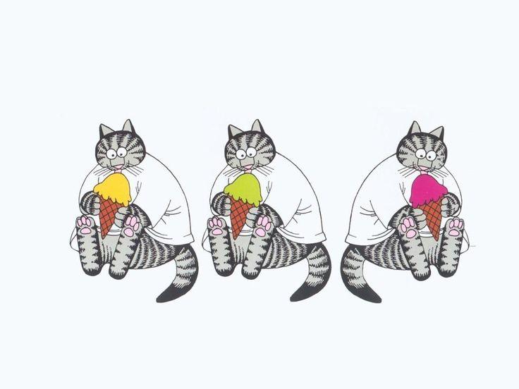 kliban cat | ... . Психоделические рисунки от J.K.Kliban'а