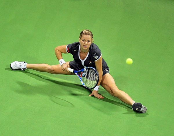 Kim Clijsters- One of my favorite female athletes.