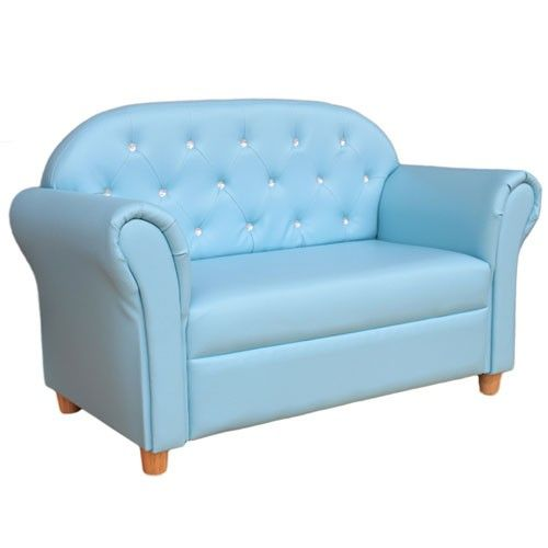 blue kids furniture. premium 2 seater sofa blue kids furniture all4kids t