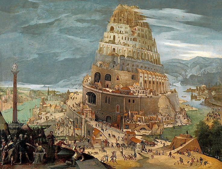 Abel Grimmer The Tower of Babel. http://annabelchaffer.com/