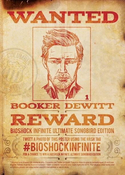 BioShock Infinite Launches National Manhunt Competition