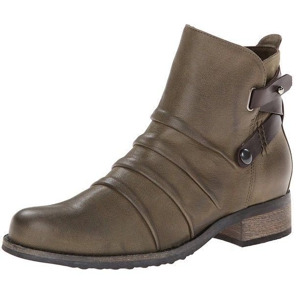 Fidji Women's L839 Boot ($95) ❤ liked on Polyvore featuring shoes, boots, grip shoes, leather upper boots, fidji, fidji shoes and faux-fur boots