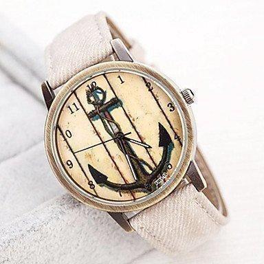 Oferta: 16.29€. Comprar Ofertas de mujeres, la Vieja Weisen Botas de ancla de preselección botón PU banda de cuarzo reloj de pulsera analógico (Varios Colores) barato. ¡Mira las ofertas!