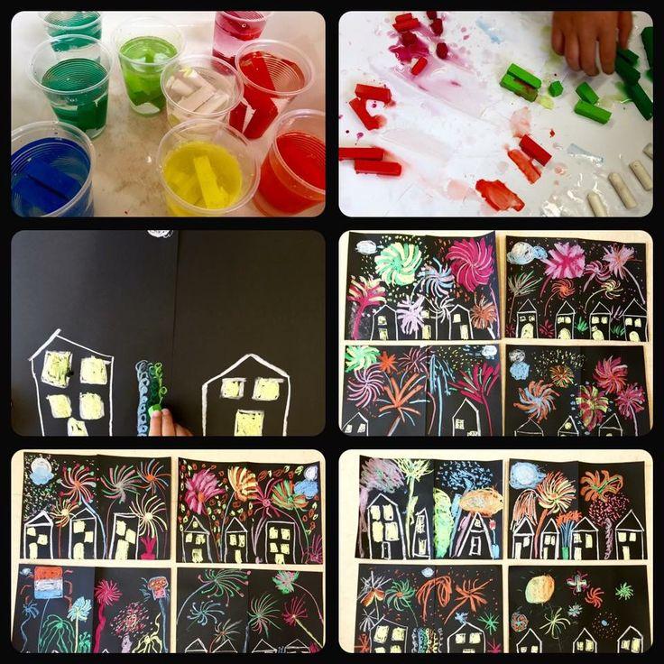 63 besten kunstunterricht malen und basteln in der. Black Bedroom Furniture Sets. Home Design Ideas