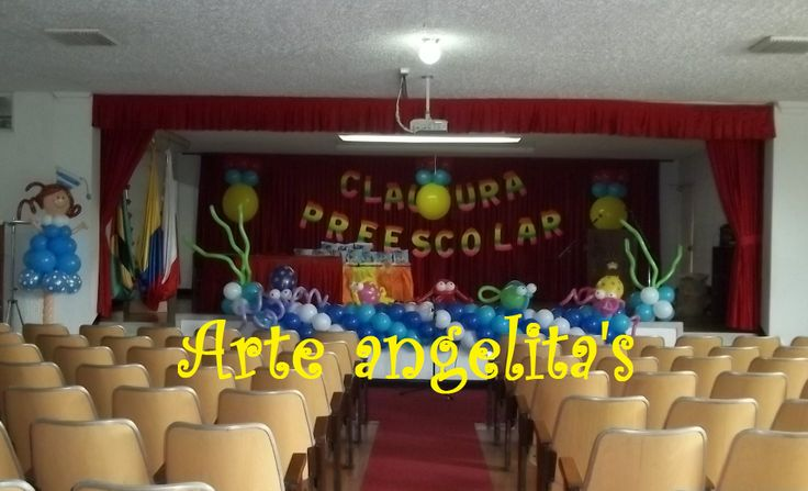 9 best images about graduacion preescolar on pinterest for Decoracion de espacios de preescolar