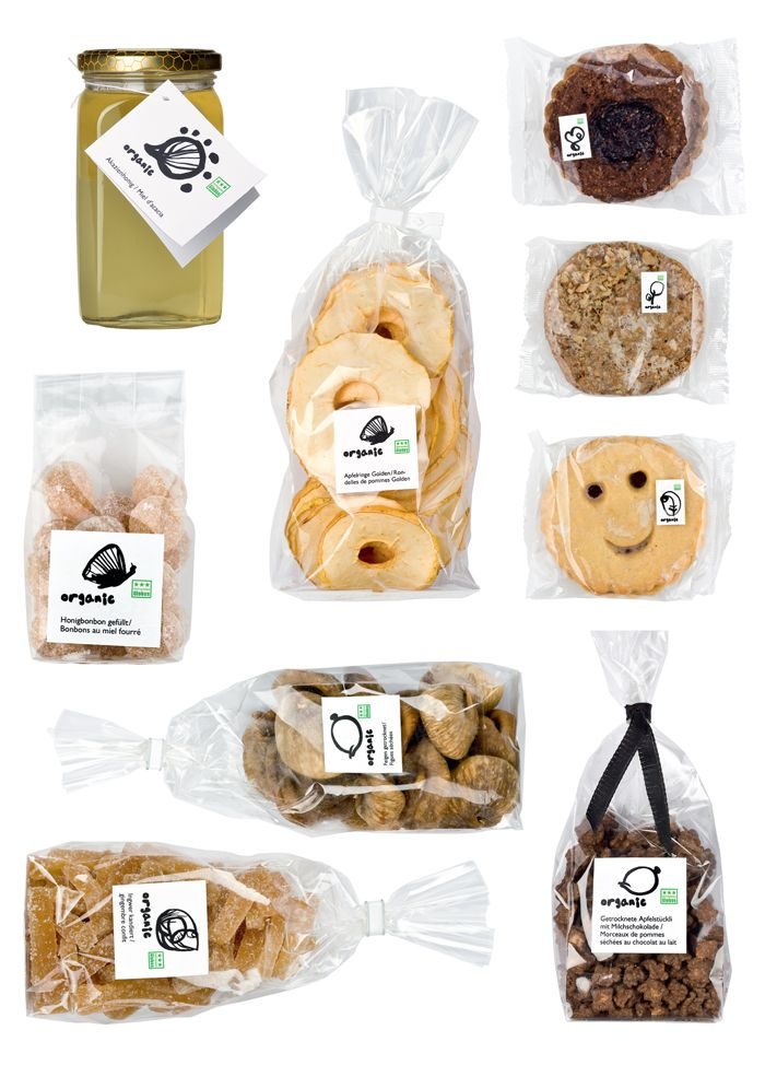 Globus Organics has a wide array of unique and cohesive packaging. See the  entire lineup below.