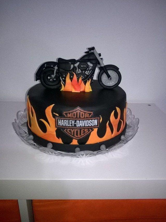26 Exclusive Image Of Harley Birthday Cake Cake For Husband Motorcycle Birthday Cakes Motorbike Cake
