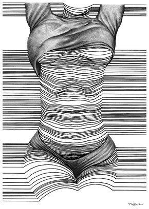 Der in Dublin lebende Künstler Nester Formentera fertigt erstaunliche Zeichnung… – n.k