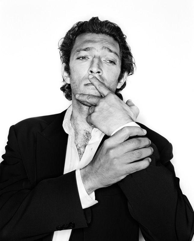 Vincent Cassel (1966) - Cesar Award-winning French actor. Photo © Rankin