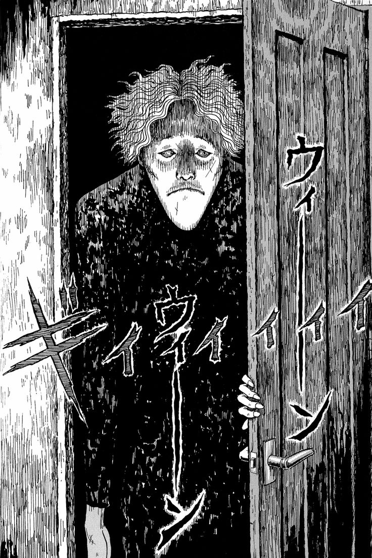 24 Best Junji Ito Images On Pinterest Horror Art Junji