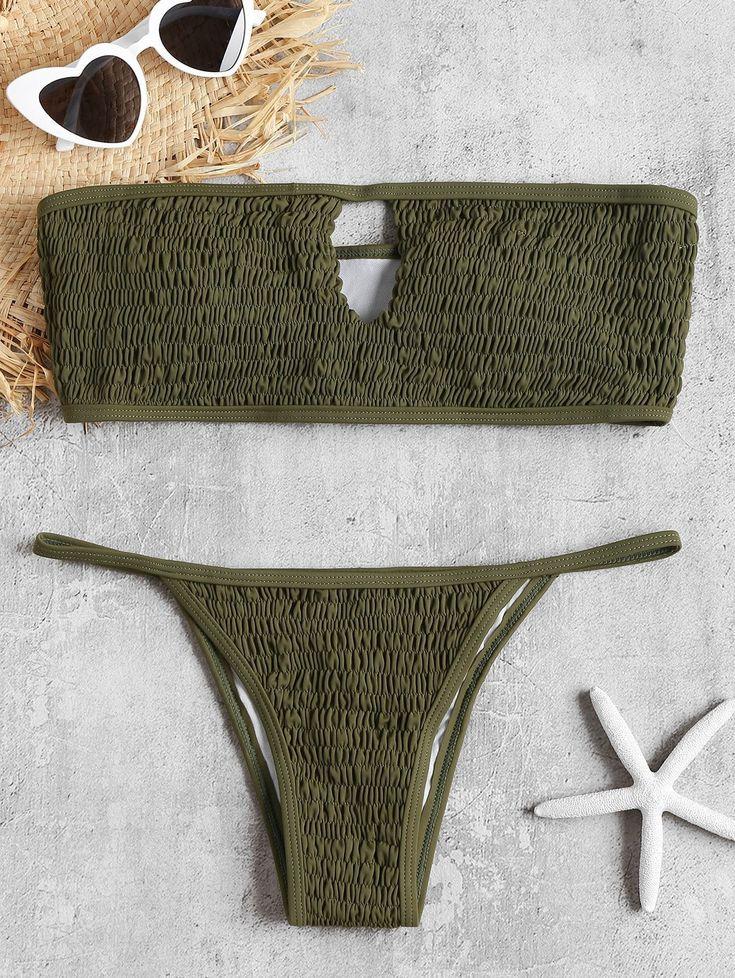 Keyhole Smocked Bandeau Bikini Set swimwear #swimwearmodel #swimwears #swimwearph #swimwearshoot #swimweardesigner #SwimwearFashion #swimweargalore #swimwearthailand #swimwear2017 #swimwearlover #swimwearshop #swimwearsale #swimweardesign #swimwearlovers #swimwearbrand #swimwearbigsize #swimwearblog #swimwearsph #swimwearphotographer #swimwearvintage #swimwearforsale #swimwearcatalogue #swimwearthai #swimwearindonesia #swimwearmen #swimwearlabel #swimwearkids #swimwearlucu #swimwearth