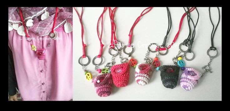 Small Bag Necklace || Available in 5 colours || Price by Request || Check my page for more info : http://goo.gl/LHwt5S  Thank you :)