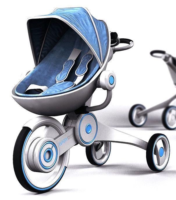 Babyoom – Pram, Stroller & Shopping Cart by Hadong Jung » Yanko Design