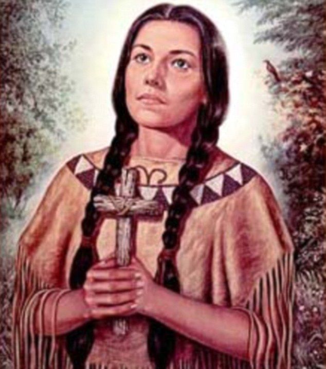 Kateri 'Caterina' Tekakwitha...I named my daughter after her...