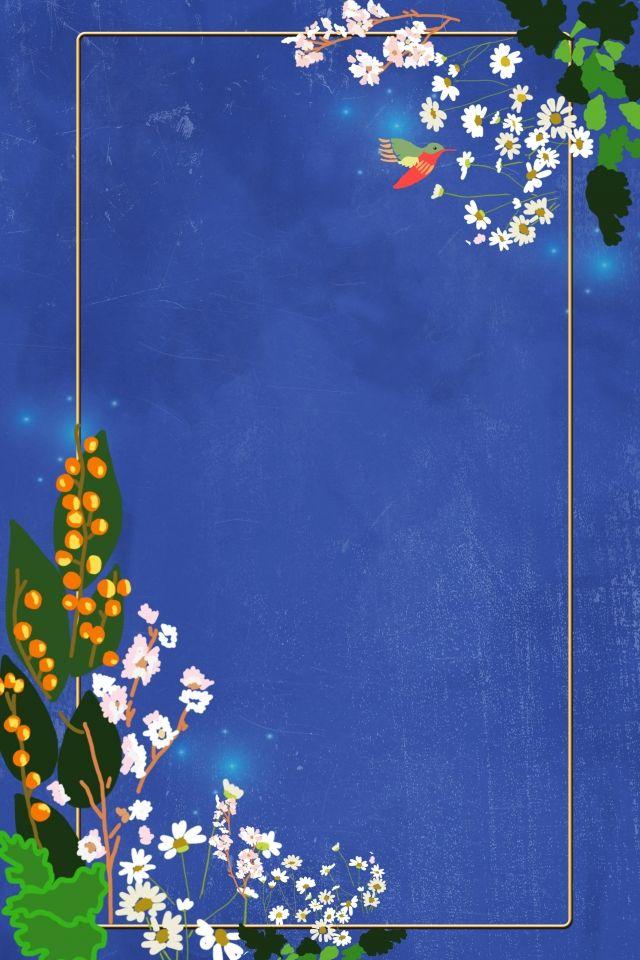 ألوان مائية الزهور الزرقاء Watercolor Flowers Blue Watercolor Flower Painting