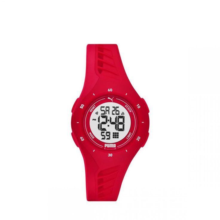 Montre Homme Puma Montres P6023 - Bracelet Silicone Rouge en 2021 ...