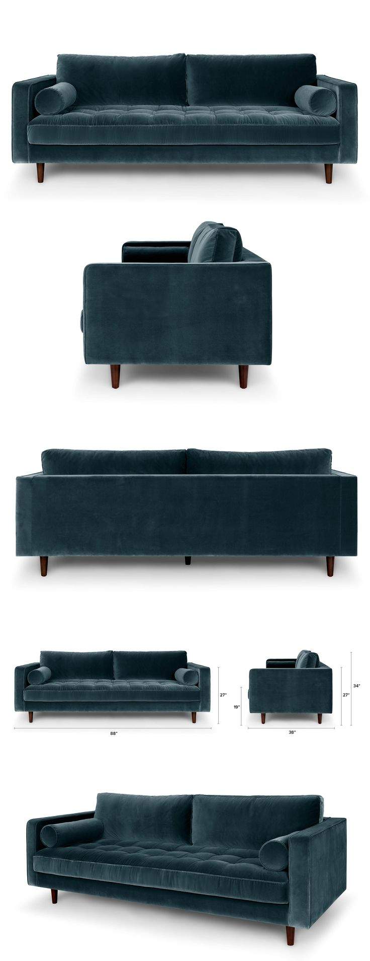 Best 25+ Blue sofas ideas on Pinterest | Sofa, Navy blue couches ...