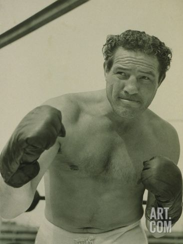 Max Baer, One-Time Heavyweight Champion of the World in the 1940s - Premium Poster