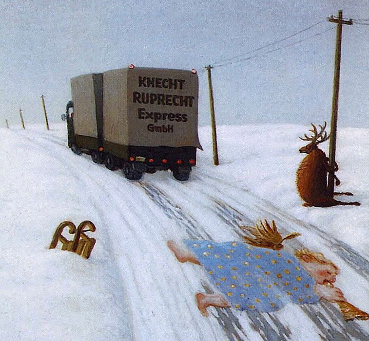 Christmas came and went   (by Michael Sowa)