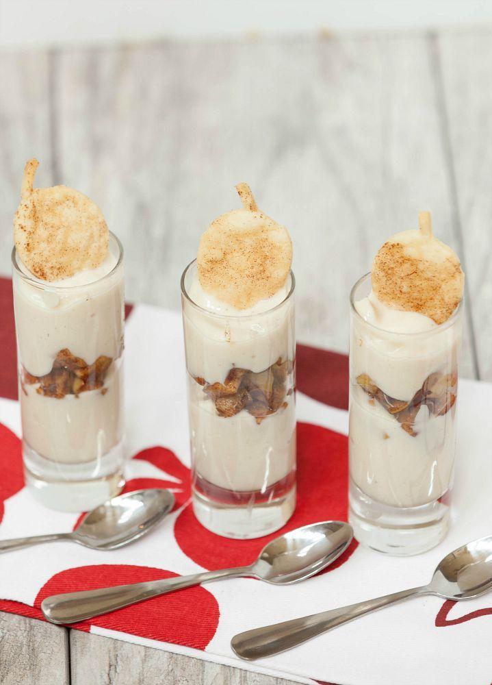 Apple Pie Parfait with Dairy Freee Yogurt Alternative @lovemysilk #ad #topittuesday
