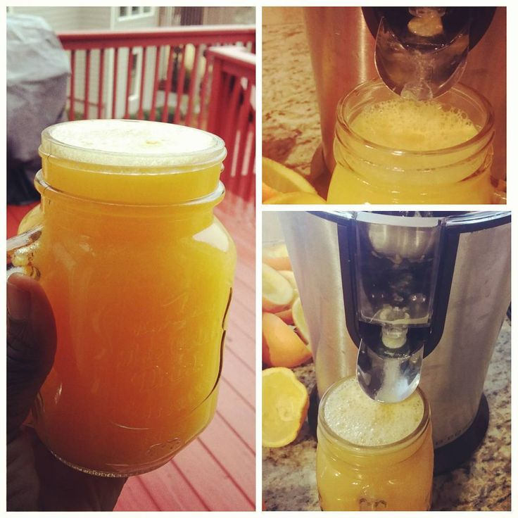 Fresh homemade juice