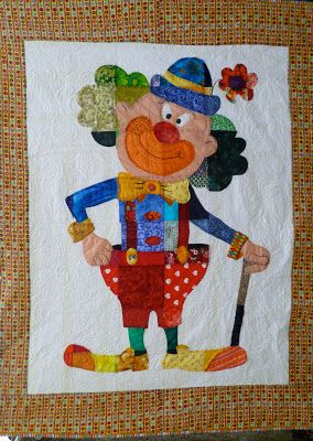 Layer Upon Layer: How to make my clown quilt