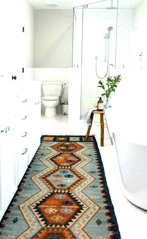 Small Bathroom Rug Ideas Modern Bathroom Rug Small Bathroom Rug