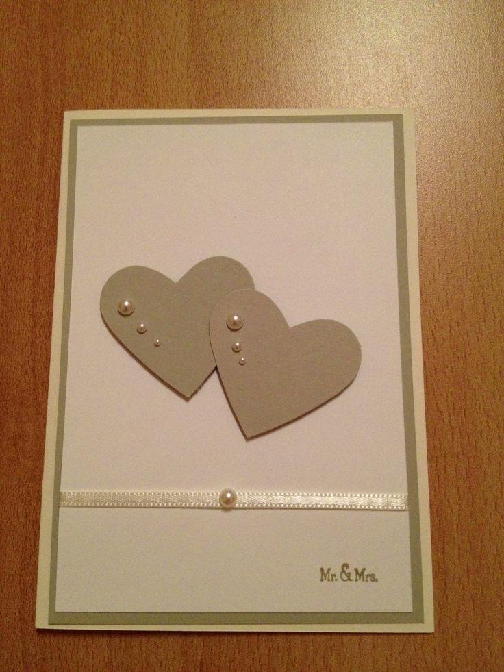 Wedding Card Stampin up