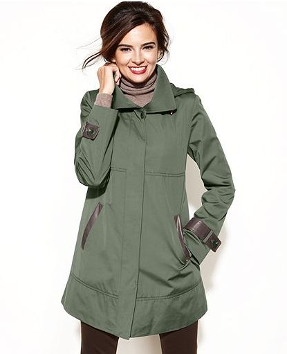 hooded raincoats for women - photo #35
