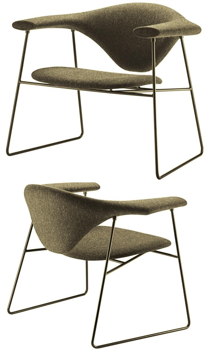 GUBI - Masculo Chair by Stine Gam http://decdesignecasa.blogspot.it/