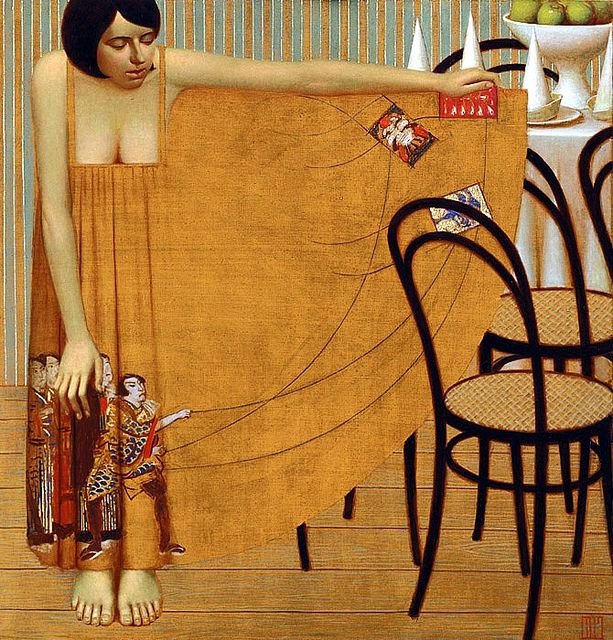 Remnev, Andrey (1962- ) '2005 Birthday' (Private Collection), via Flickr.