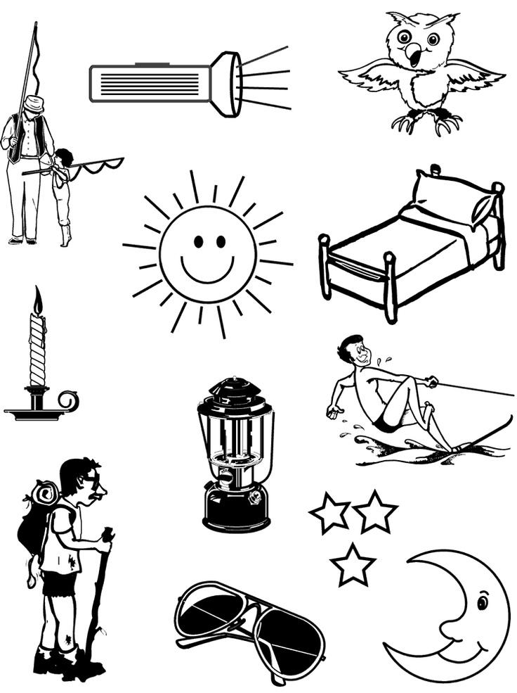 Day And Night Kindergarten Science Worksheet. Day. Best