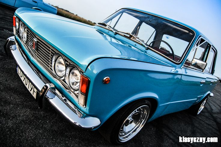 "1973 Polish Fiat 125p ""Bandit"""