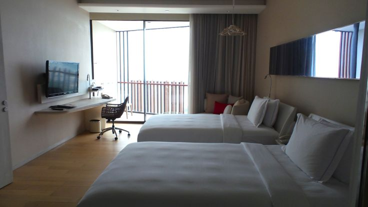 Twin Room at the Hilton Pattaya Hotel in Thailand