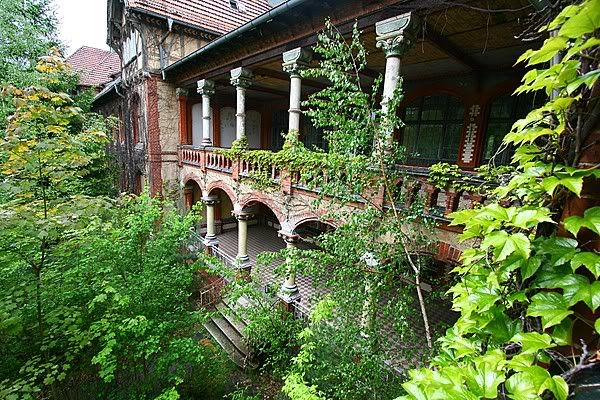 Beelitz Military Hospital, Berlin, now abandoned. In 1916, Adolph Hitler recuperated here after WWI from a bullet wound.