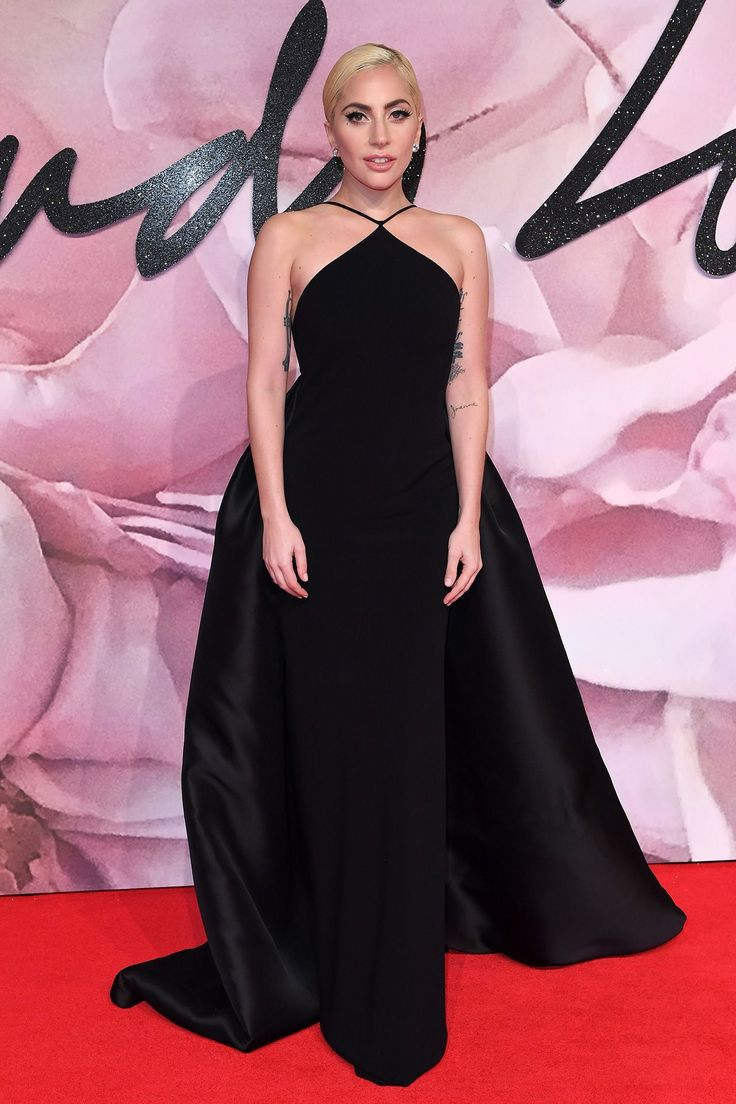 Lady Gaga - Fashion Awards Arrivals, London - December 5 2016
