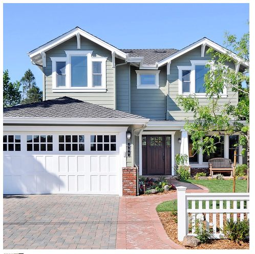 Path From Street To Driveway. Traditional ExteriorModern  TraditionalTraditional HouseExterior DesignCraftsman ...