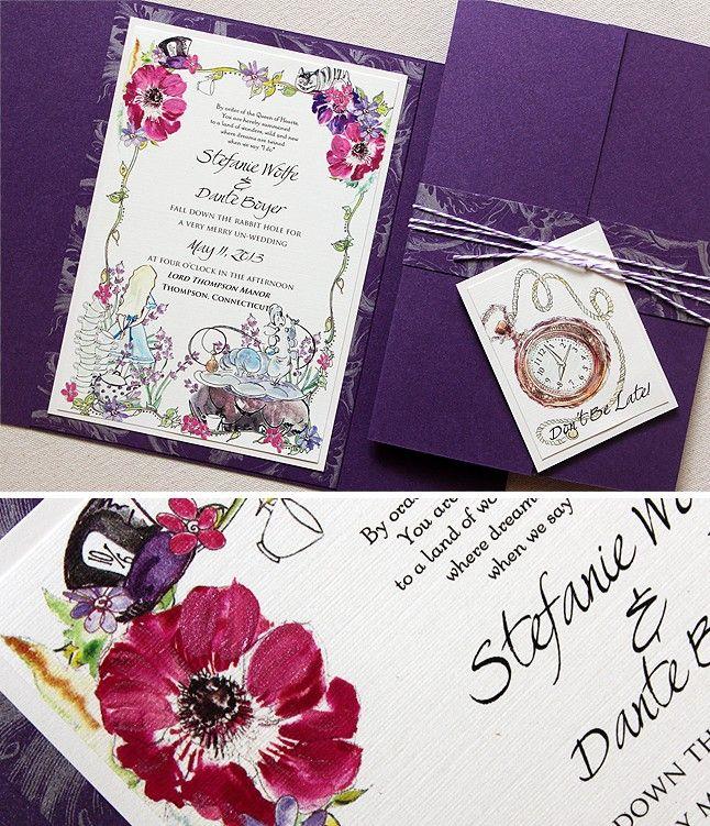 Best 25+ Alice In Wonderland Invitations Ideas On Pinterest | Alice In  Wonderland Theme, Mad Hatter Wedding And Wonderland Party