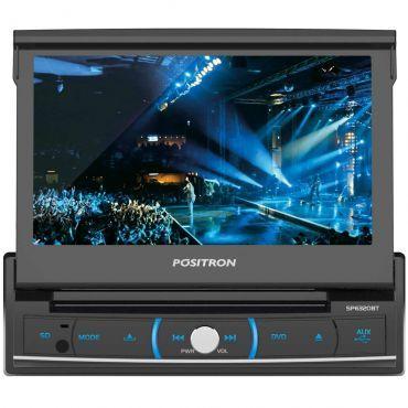 """Ricardo Eletro DVD Player Automotivo Pósitron SP6320BT Tela7"""" Entrada USB Cartão SD Card Bluetooth - R$539,00 em 3x"""